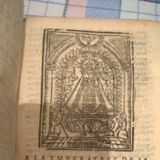 Libros antiguos: CEREMONIAL ROMANO DE LA MISSA REZADA. FRUTOS BARTHOLOME OLALLA 1721. GRABADO. Lote 123253086