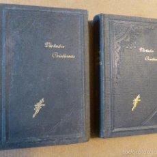 Libros antiguos: DE LA VIDA Y DE LAS VIRTUDES CRISTIANAS... 2 TOMOS. MADRID, 1910. 512 + 409 PP.. Lote 127843023