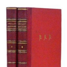 Libros antiguos: LUIS VEUILLOT – JESUCRISTO (2 TOMOS, COMPLETO). 1881. CON LITOGRAFÍAS EN COLOR. ENC. EN HOLANDESA. Lote 61369971