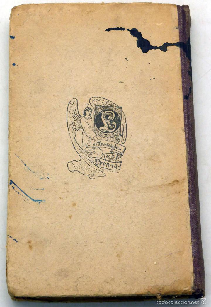 Libros antiguos: Vida San Juan Bautista de la Salle Biblioteca Apostolado Prensa 1912 - Foto 3 - 222736867