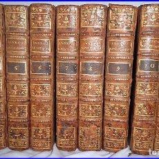 Libros antiguos: AÑO 1791. 10 TOMOS DEL SIGLO XVIII. MEDITACIONES PARA TODOS LOS DÍAS DEL AÑO. ENVÍO GRATIS. Lote 61565540
