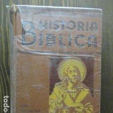 Libros antiguos: LIBRERIA GHOTICA. HISTORIA BÍBLICA.EXPOSICIÓN DOCUMENTAL. NUEVO TESTAMENTO. 1935 (VER FOTOS). Lote 61867852