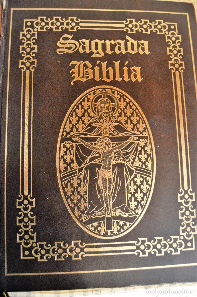 Libros antiguos: Sagrada Biblia Edición Especial OCEANO - Foto 2 - 68723910