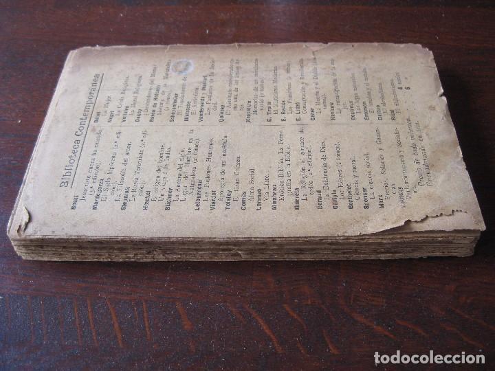Libros antiguos: Enfermedades del pensamiento. Por E. Murisier. Traducido por Florencio Sebastián Yarza. - Foto 3 - 62893696