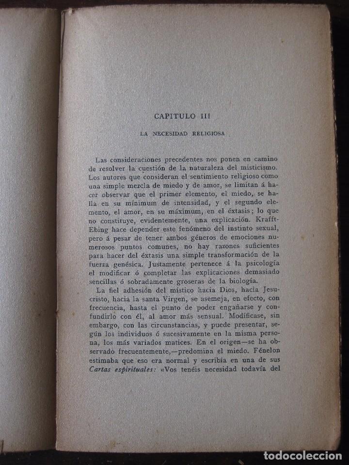 Libros antiguos: Enfermedades del pensamiento. Por E. Murisier. Traducido por Florencio Sebastián Yarza. - Foto 6 - 62893696