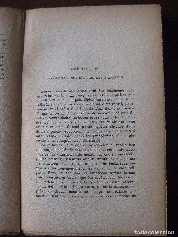 Libros antiguos: Enfermedades del pensamiento. Por E. Murisier. Traducido por Florencio Sebastián Yarza. - Foto 8 - 62893696