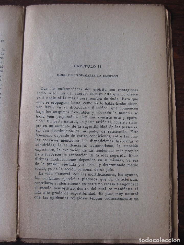 Libros antiguos: Enfermedades del pensamiento. Por E. Murisier. Traducido por Florencio Sebastián Yarza. - Foto 9 - 62893696
