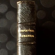Libros antiguos: BREVIARIUM ROMANUM.- PARS AUTUMNALIS. Lote 62985068