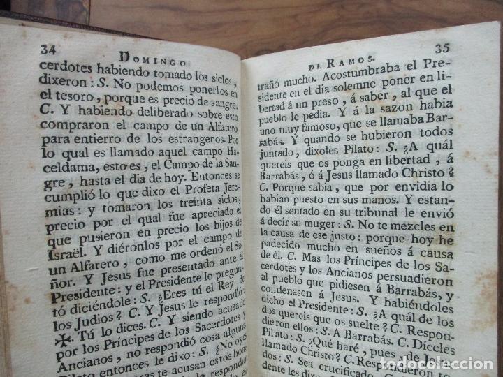 Libros antiguos: OFICIO DE LA SEMANA SANTA. C. 1800. - Foto 4 - 63089968
