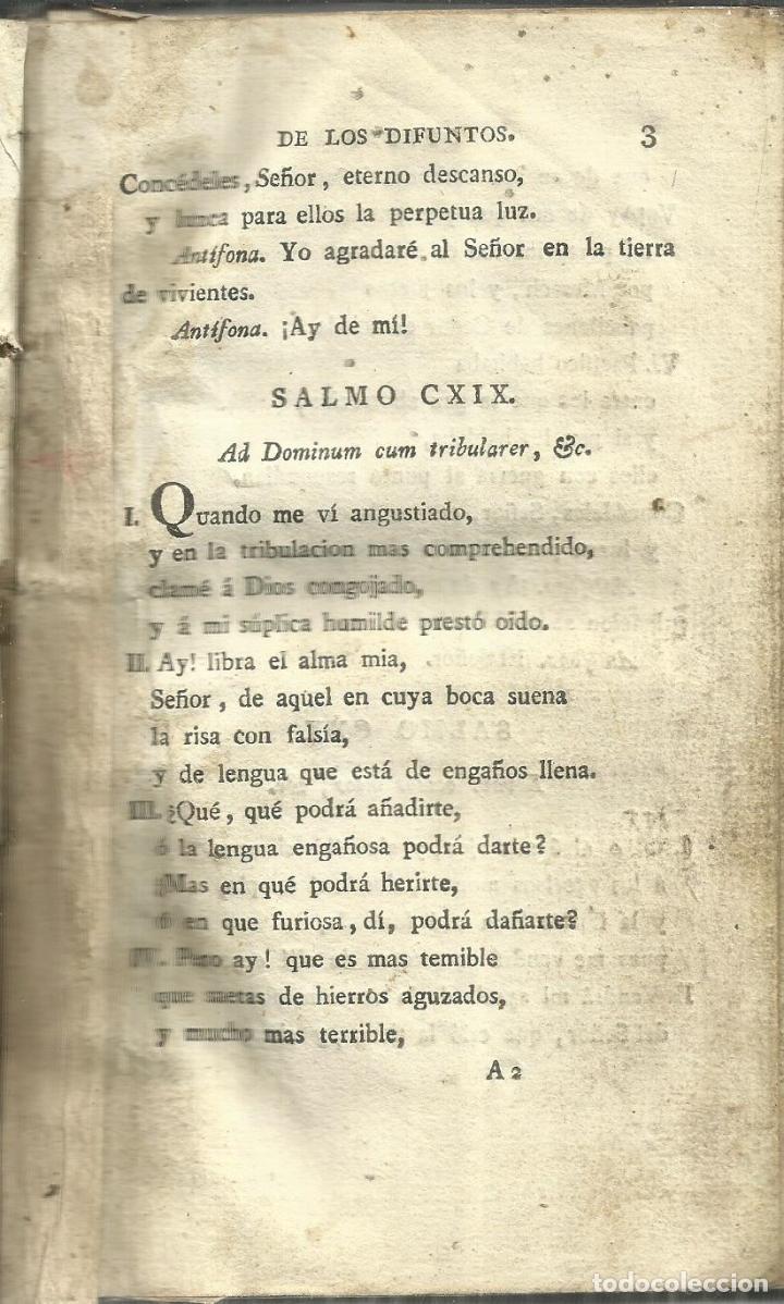 Libros antiguos: VERSIÓN CASTELLANA DE LOS DIFUNTOS. DON LEON DE ARROTAL. IMPRESOR DE CAMARA J. IBARRA. MADRID.1758 - Foto 5 - 64535023