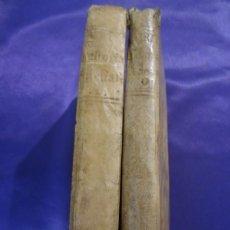Alte Bücher - COMPENDIO DE LA HISTORIA ECLESIASTICA. TOMOS I Y II. JUAN LORENZO BERTI. 1781-1786 - 65038763
