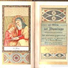 Libros antiguos: EL OFICIO DEL DOMINGO (BÉRGAMO, 1889). Lote 65448866