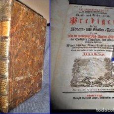 Libros antiguos: AÑO 1765: ENORME TOMO DE PALLU. 1ª PÁGINA A DOBLE TINTA. SIGLO XVIII. 34 CM. Y 736 PÁGINAS.. Lote 65792082