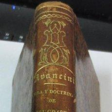 Libros antiguos: VIDA Y DOCTRINA DE JESUCRISTO TOMO 2 NICOLÁS AVANCINI AÑO 1859 SIGLO XIX. Lote 66839186