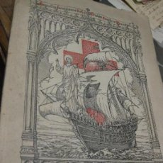 Libros antiguos: A LA CONQUISTA DESTELLOS DE LA MISION CATOLICA MUNDIAL 1929 MISIONES RELIGIOSAS. Lote 67778845