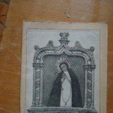 Libros antiguos: COLECCIONISTAS SEMANA SANTA Y ARTE RELIGIOSO - VIRGEN DE LA PALOMA MADRD - DEVOCINARIO A LA IMAGEN. Lote 67825733