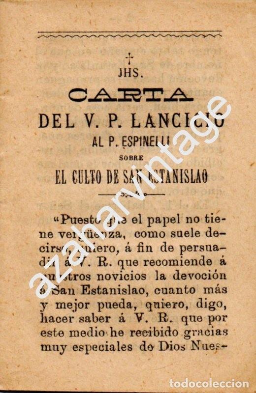 cartas del v.p.lancicio al p.espinelli sobre el - Comprar Libros ...
