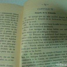Libros antiguos: BREVE METODO CAUSAS DE BEATIFICACION ANGEL CONRADO 1914 VICH. Lote 67991133