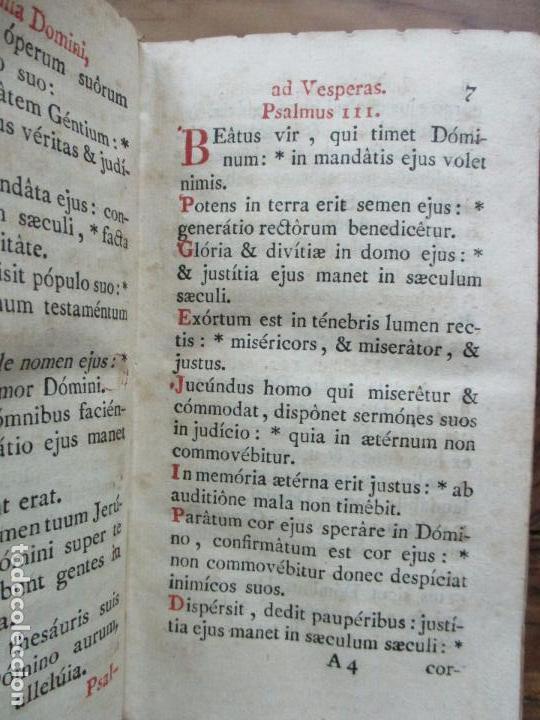 Libros antiguos: OFFICIUM IN EPIPHANIA DOMINI, ET PER TOTAM OCTAVAM: JUXTA MISSALE ET BREVIAR. ROMAN...1778 - Foto 5 - 68236533
