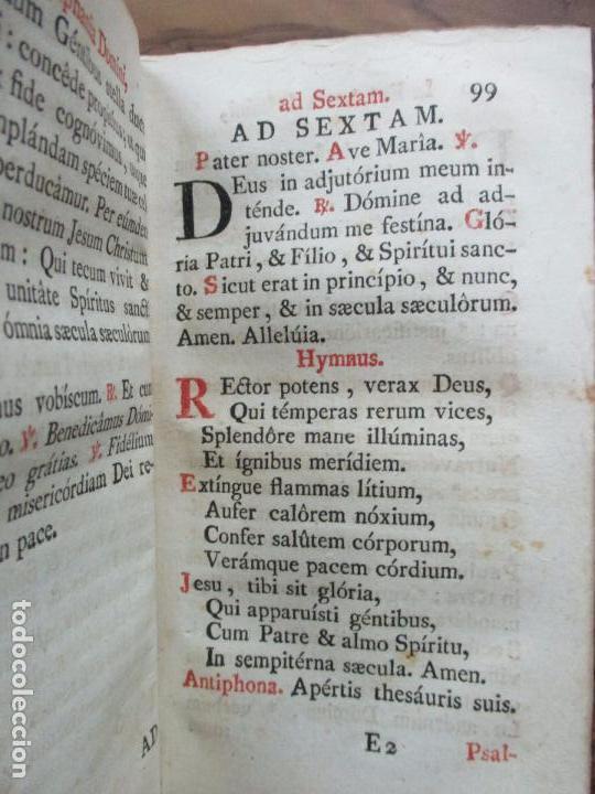 Libros antiguos: OFFICIUM IN EPIPHANIA DOMINI, ET PER TOTAM OCTAVAM: JUXTA MISSALE ET BREVIAR. ROMAN...1778 - Foto 7 - 68236533