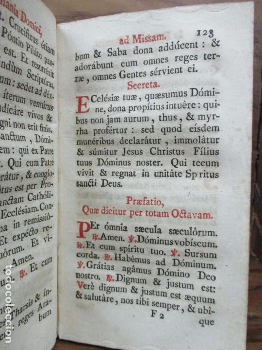 Libros antiguos: OFFICIUM IN EPIPHANIA DOMINI, ET PER TOTAM OCTAVAM: JUXTA MISSALE ET BREVIAR. ROMAN...1778 - Foto 8 - 68236533