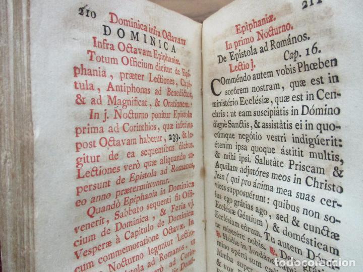Libros antiguos: OFFICIUM IN EPIPHANIA DOMINI, ET PER TOTAM OCTAVAM: JUXTA MISSALE ET BREVIAR. ROMAN...1778 - Foto 9 - 68236533