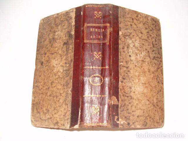 Libros antiguos: Sacrorum Bibliorum. Tomus Primus y Tertius. DOS TOMOS. RM77771. - Foto 2 - 68889093