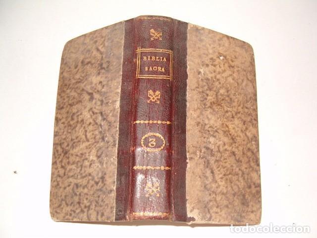 Libros antiguos: Sacrorum Bibliorum. Tomus Primus y Tertius. DOS TOMOS. RM77771. - Foto 4 - 68889093