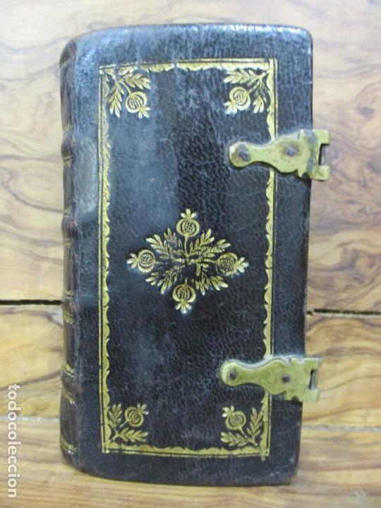 Libros antiguos: OFICIO DE LA SEMANA SANTA SEGUN EL MISAL, Y BREVIARIO ROMANOS. 1794. - Foto 2 - 69389549