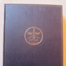 Libros antiguos: LA BIBLIA. ISAIAS I. PER DOM RAMIR AUGÉ. ED.MONESTIR DE MONTSERRAT. XIII. 1935. Lote 69401101