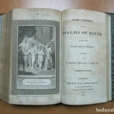 Libros antiguos: COMMON PRAYER/PSALMS DAVID, 1811. THOMAS KELLY. POSEE 11 GRABADOS. Lote 69751141