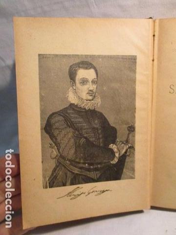 Libros antiguos: VIDA DE SAN LUIS GONZAGA, FEDERICO CERVÓS - TOMO 4 - VER FOTOS - Foto 10 - 70336837