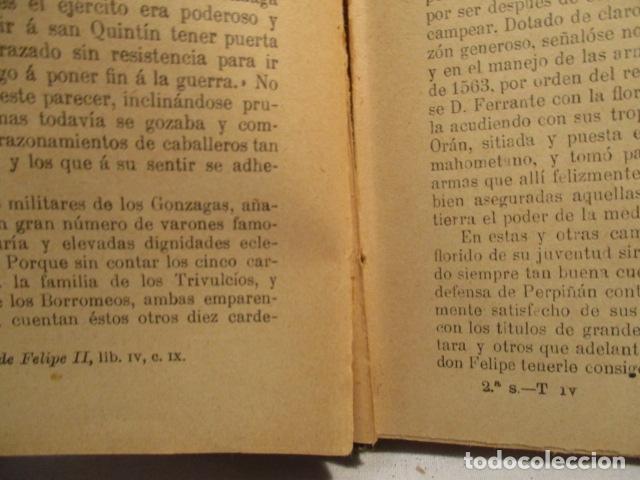 Libros antiguos: VIDA DE SAN LUIS GONZAGA, FEDERICO CERVÓS - TOMO 4 - VER FOTOS - Foto 15 - 70336837