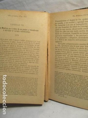 Libros antiguos: VIDA DE SAN LUIS GONZAGA, FEDERICO CERVÓS - TOMO 4 - VER FOTOS - Foto 17 - 70336837