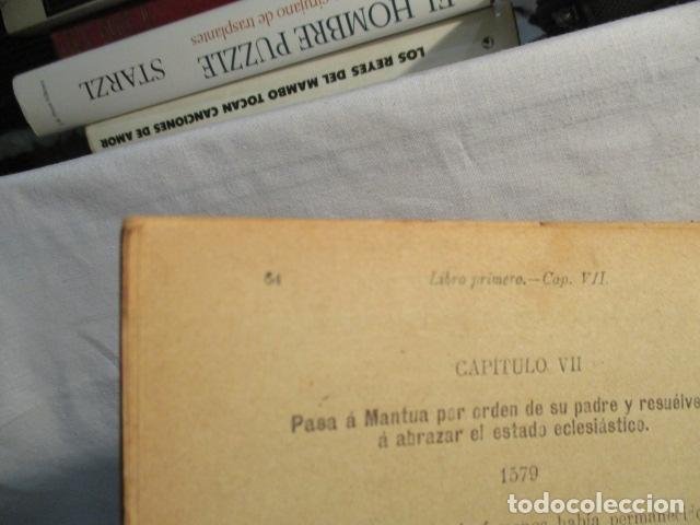 Libros antiguos: VIDA DE SAN LUIS GONZAGA, FEDERICO CERVÓS - TOMO 4 - VER FOTOS - Foto 18 - 70336837