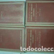 Libros antiguos: CÓDIGO DE DERECHO CANÓNICO. DERECHO CANÓNICO POSCONCILIAR (5 TOMOS). AÑO 1967. Lote 71189737