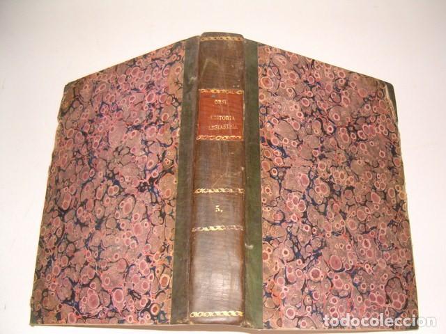 HISTORIA ECLESIASTICA: TOMO V: LA HISTORIA DE LA IGLESIA HASTA EL AÑO 313. RM78134 (Libros Antiguos, Raros y Curiosos - Religión)