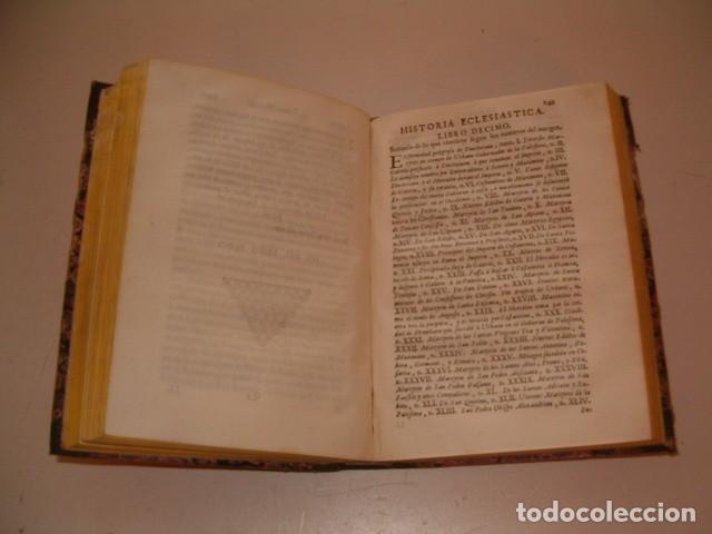 Libros antiguos: Historia Eclesiastica: Tomo V: La Historia de la Iglesia hasta el año 313. RM78134 - Foto 4 - 71231315
