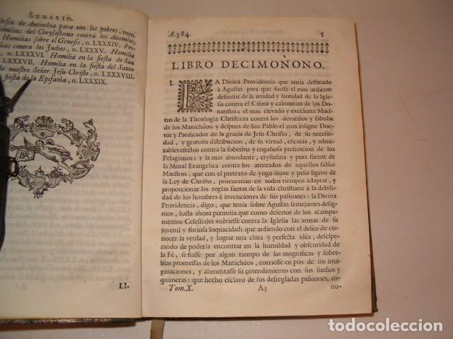 Libros antiguos: Historia Eclesiastica: Tomo X: La Historia de la Iglesia hasta el año 395. RM78138. - Foto 3 - 71231727