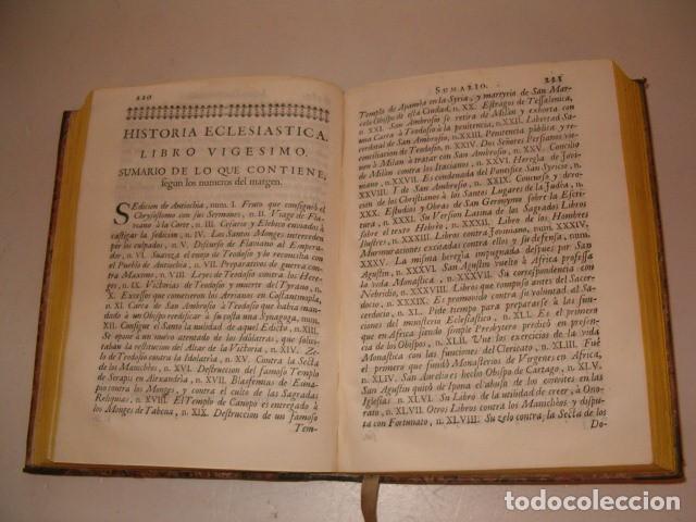 Libros antiguos: Historia Eclesiastica: Tomo X: La Historia de la Iglesia hasta el año 395. RM78138. - Foto 4 - 71231727