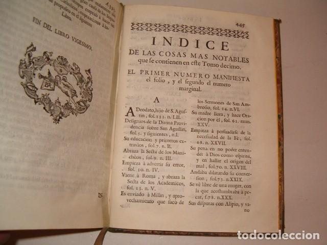 Libros antiguos: Historia Eclesiastica: Tomo X: La Historia de la Iglesia hasta el año 395. RM78138. - Foto 5 - 71231727
