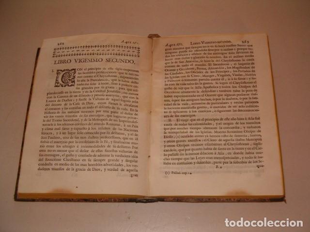 Libros antiguos: Historia Eclesiastica: Tomo XI: La Historia de la Iglesia hasta el año 401. RM78139. - Foto 4 - 71231831