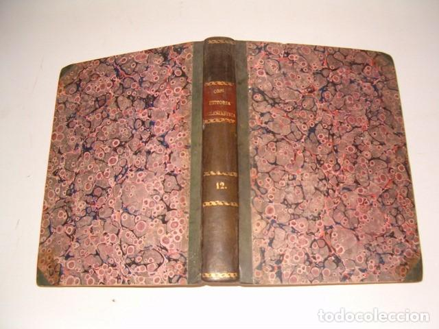 HISTORIA ECLESIASTICA: TOMO XII: LA HISTORIA DE LA IGLESIA HASTA EL AÑO 410. RM78140. (Libros Antiguos, Raros y Curiosos - Religión)