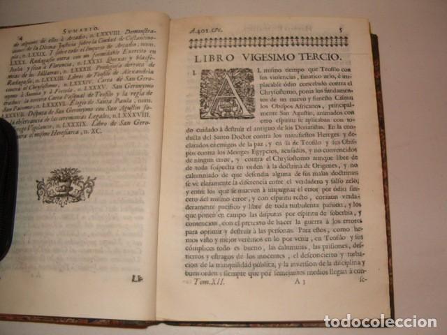 Libros antiguos: Historia Eclesiastica: Tomo XII: La Historia de la Iglesia hasta el año 410. RM78140. - Foto 3 - 71231943