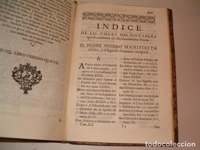 Libros antiguos: Historia Eclesiastica: Tomo XII: La Historia de la Iglesia hasta el año 410. RM78140. - Foto 5 - 71231943