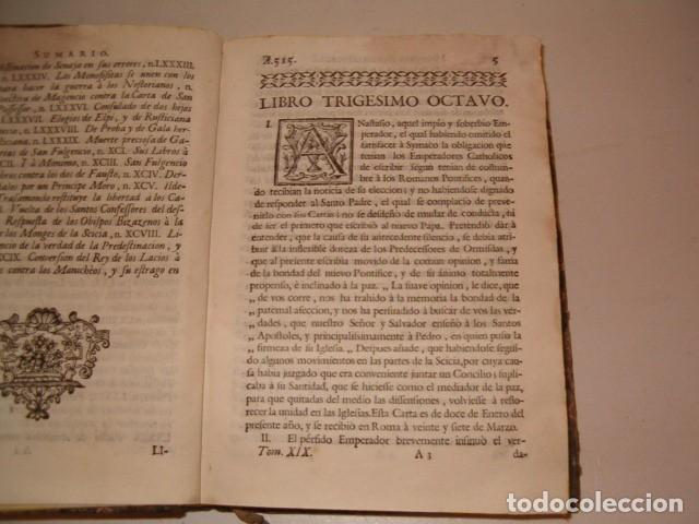 Libros antiguos: Historia Eclesiastica: Tomo XIX: La Historia de la Iglesia hasta el año 584. RM78146. - Foto 3 - 71232563
