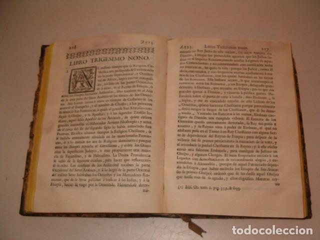 Libros antiguos: Historia Eclesiastica: Tomo XIX: La Historia de la Iglesia hasta el año 584. RM78146. - Foto 4 - 71232563