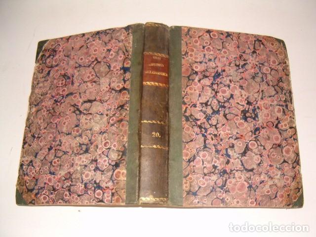 HISTORIA ECLESIASTICA: TOMO XX: LA HISTORIA DE LA IGLESIA HASTA EL AÑO 554. RM78147. (Libros Antiguos, Raros y Curiosos - Religión)
