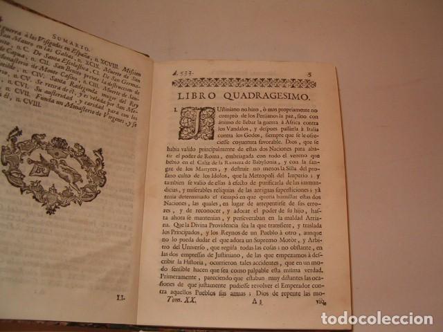 Libros antiguos: Historia Eclesiastica: Tomo XX: La Historia de la Iglesia hasta el año 554. RM78147. - Foto 3 - 71232735