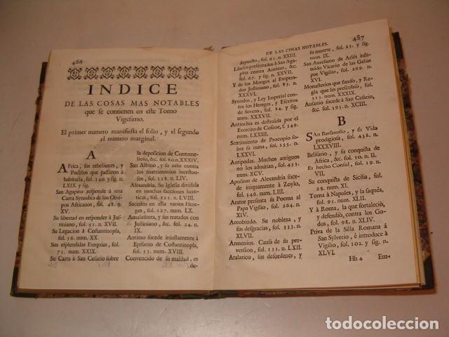 Libros antiguos: Historia Eclesiastica: Tomo XX: La Historia de la Iglesia hasta el año 554. RM78147. - Foto 5 - 71232735